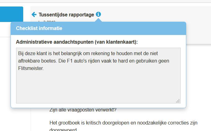 12. info button