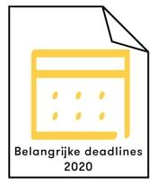 afbeeldig belangrijke deadlines 2020 800x1000