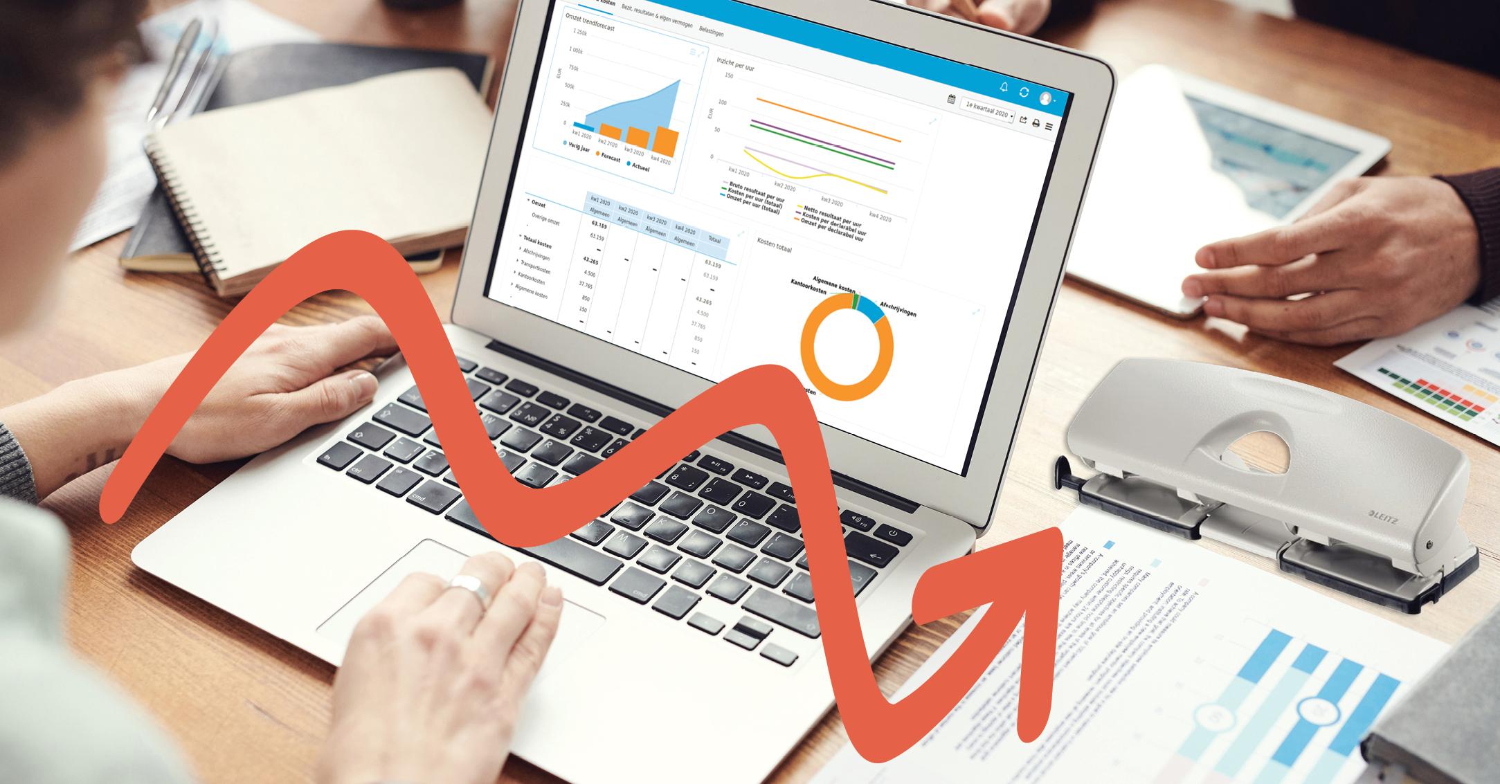 software voor kleinere administratie- en accountantskantoren