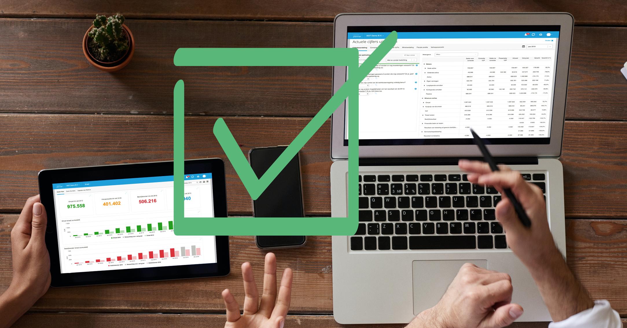 cloudsoftware voor kleine administratie- of accountantskantoren