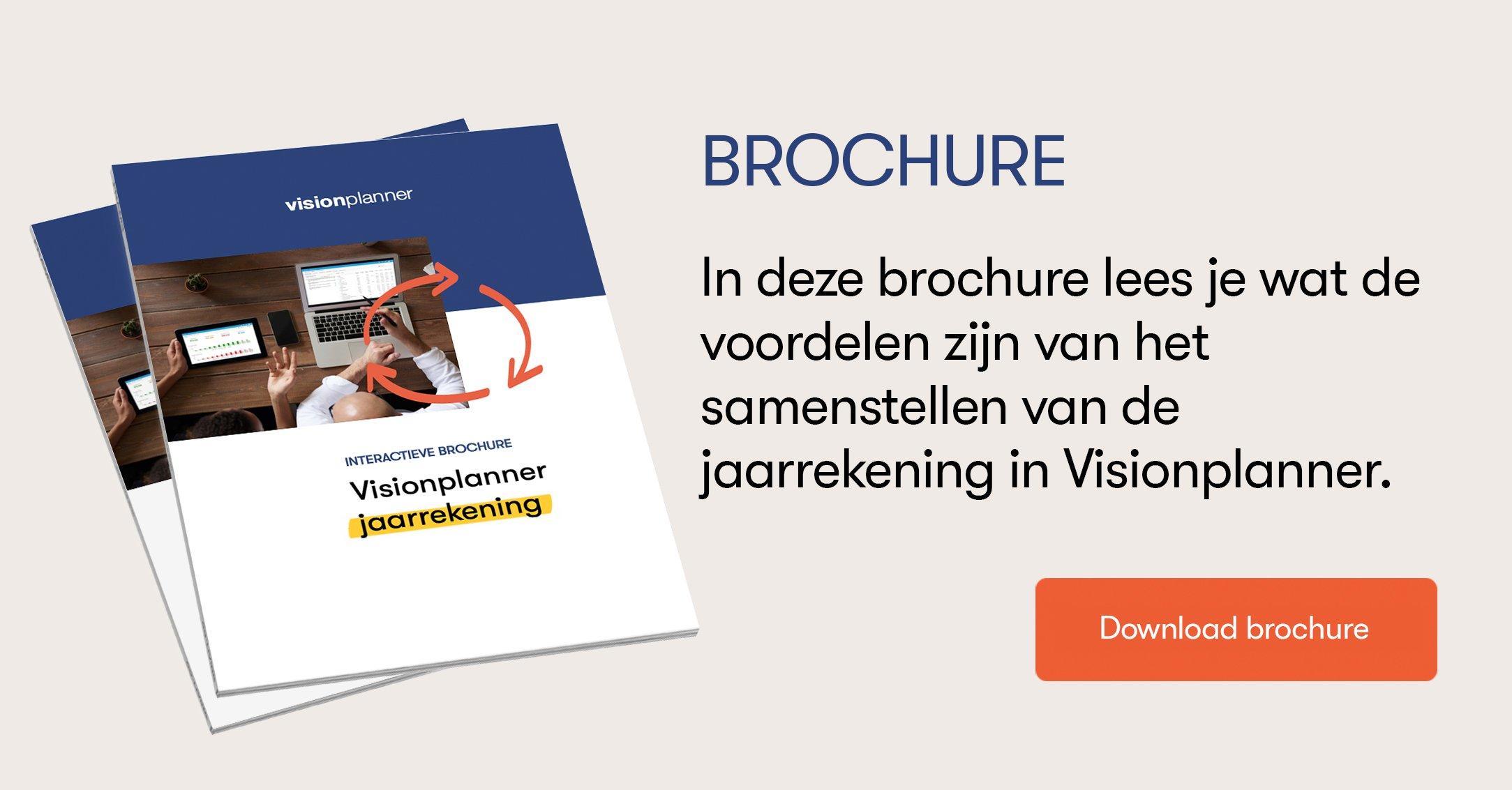 Brochure Visionplanner Jaarrekening