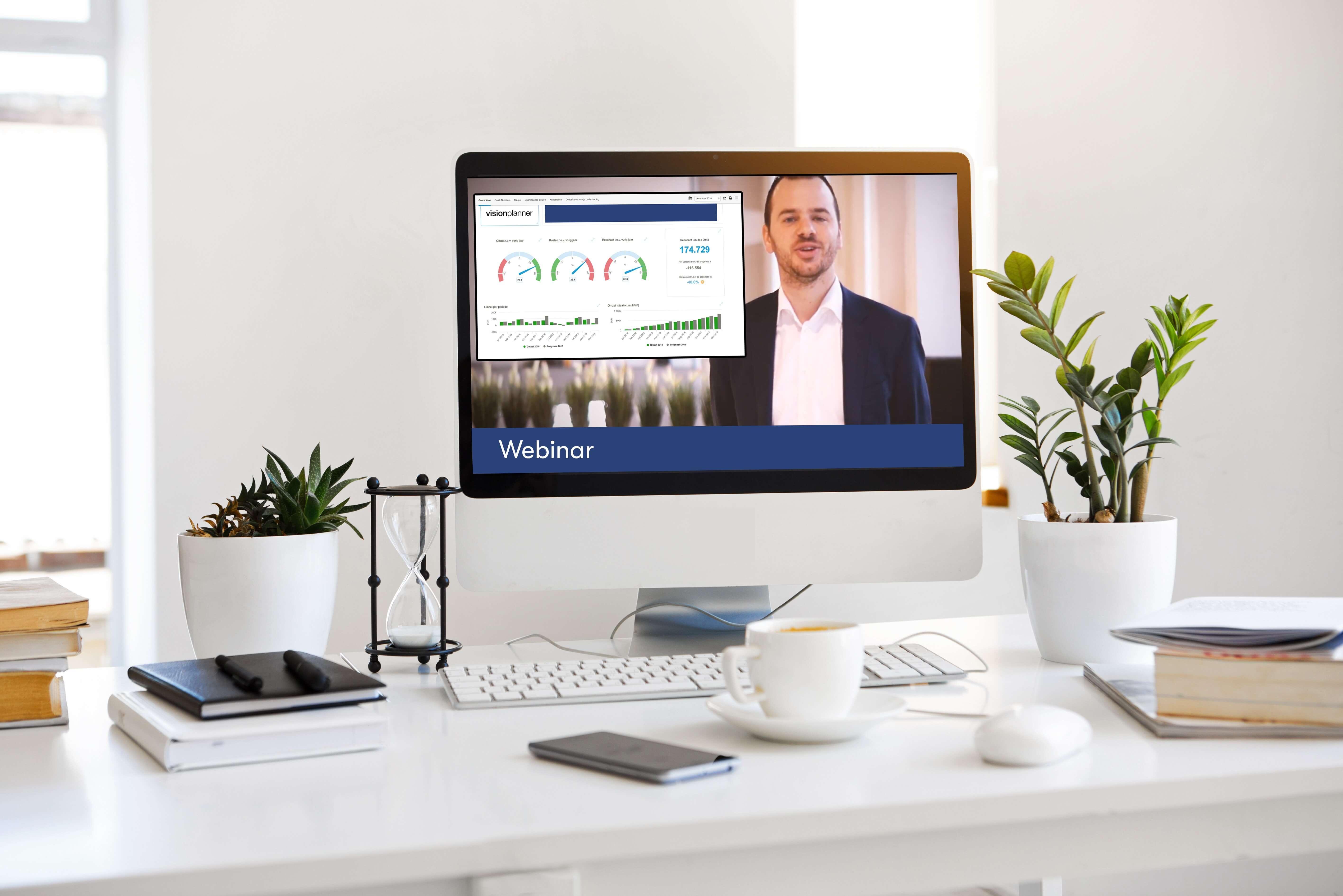 webinar over koppeling Visma eAccounting en Visionplanner