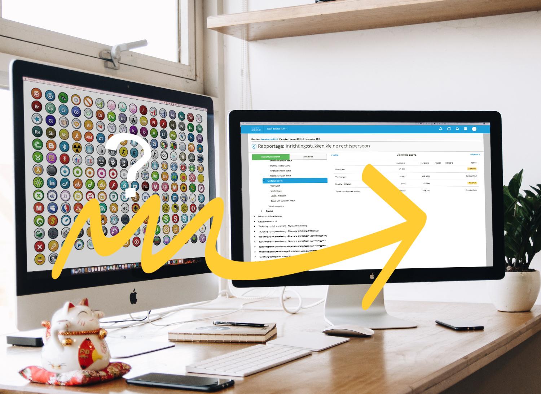 visionplanner vergelijken met caseware, unit4 of word en excel